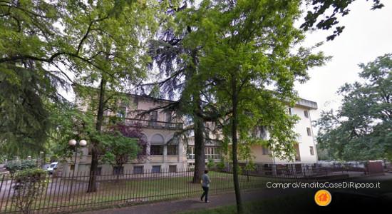 RSA in villa stile liberty - villa struttura