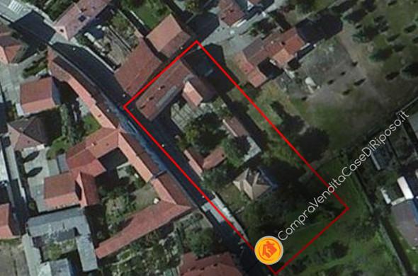 immobile destinazione casa di riposo - vista satellitare