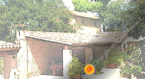 affittasi immobili destinazione casa di riposo Macerata - edificio 1 - portico