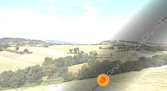 affittasi immobili destinazione casa di riposo Macerata - panorama colline