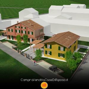Terreno edificabile con progetto per casa di riposo - copertina