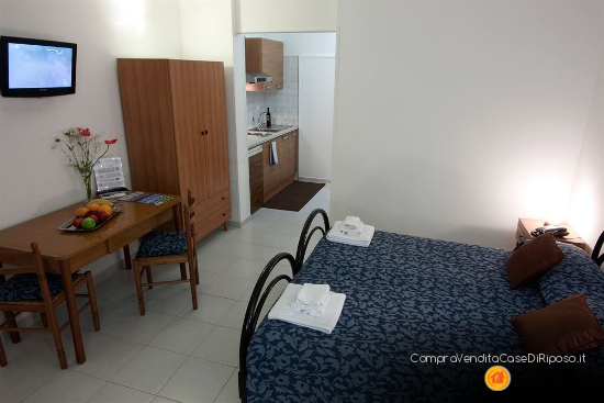 hotel destinazione casa di riposo - camera standard